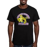 Serious Cheetah Men's Fitted T-Shirt (dark)