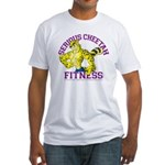 Serious Cheetah Fitted T-Shirt