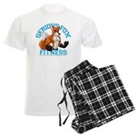 Serious Fox Men's Light Pajamas
