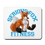 Serious Fox Mousepad