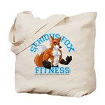 Serious Fox Tote Bag