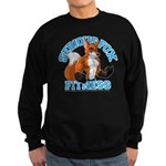 Serious Fox Sweatshirt (dark)