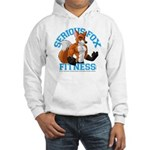 Serious Fox Hooded Sweatshirt