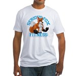 Serious Fox Fitted T-Shirt