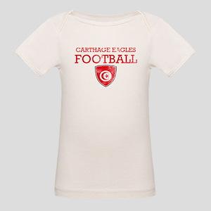 Tunisia Football Organic Baby T-Shirt