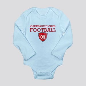 Tunisia Football Long Sleeve Infant Bodysuit