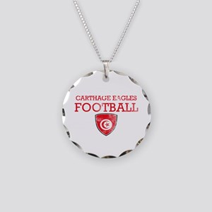 Tunisia Football Necklace Circle Charm