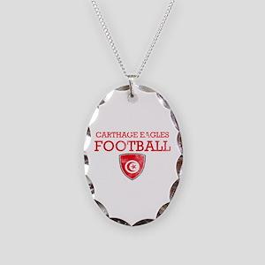 Tunisia Football Necklace Oval Charm