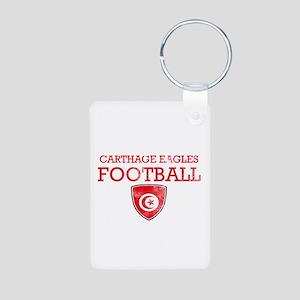 Tunisia Football Aluminum Photo Keychain