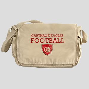 Tunisia Football Messenger Bag