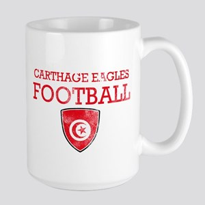 Tunisia Football Large Mug