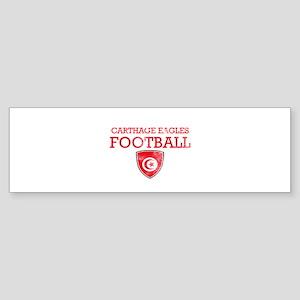 Tunisia Football Sticker (Bumper)