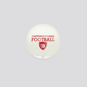 Tunisia Football Mini Button