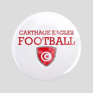 """Tunisia Football 3.5"""" Button"""