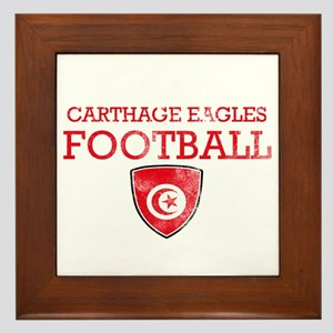 Tunisia Football Framed Tile