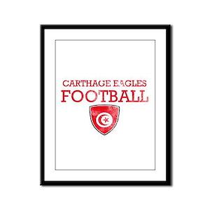 Tunisia Football Framed Panel Print