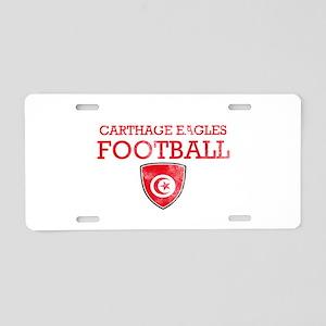 Tunisia Football Aluminum License Plate