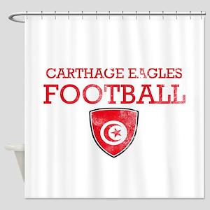 Tunisia Football Shower Curtain