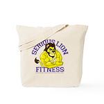Serious Lion Tote Bag