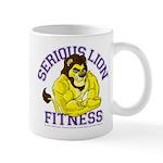 Serious Lion Mug