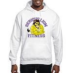 Serious Lion Hooded Sweatshirt