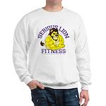 Serious Lion Sweatshirt