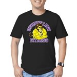 Serious Lion Men's Fitted T-Shirt (dark)
