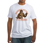 Serious Otter Fitted T-Shirt