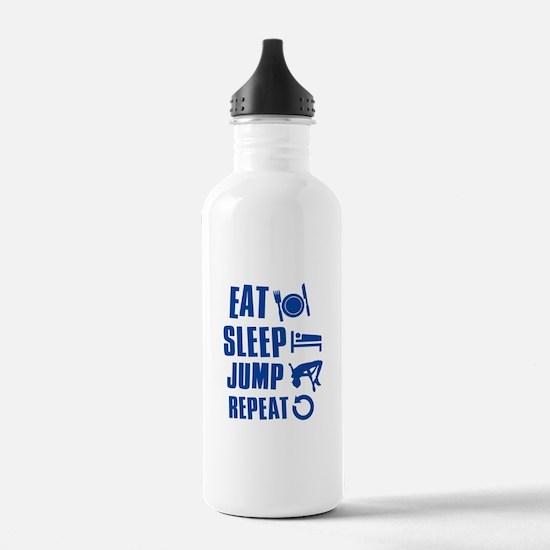Eat Sleep Jump Water Bottle