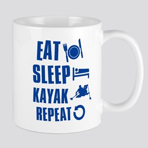 Eat Sleep Kayak Mug