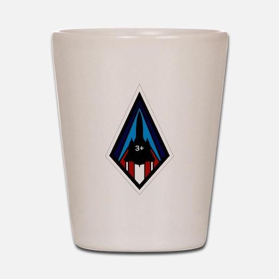 SR-71 Shot Glass