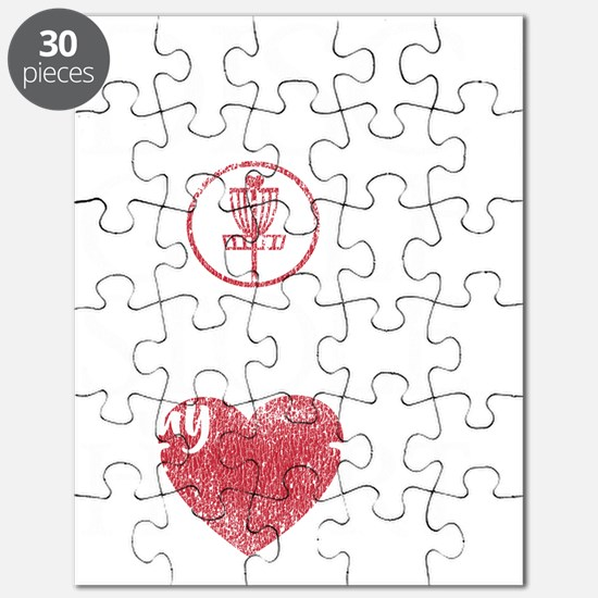 Funny Ultimate disc Puzzle