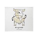 origamoo Throw Blanket
