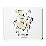origamoo Mousepad