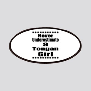 Never Underestimate A Tongan Girl Patch
