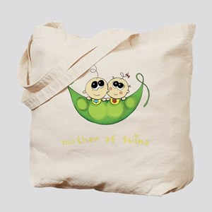Mother of Twins, Boy/Girl Tote Bag