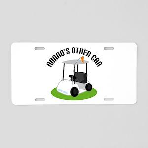 Nonno Golf Cart Aluminum License Plate