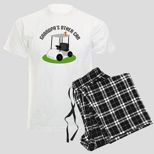 Grandpa Golf Cart Men's Light Pajamas