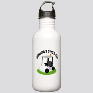 Grandpa Golf Cart Stainless Water Bottle 1.0L