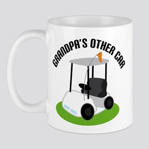Grandpa Golf Cart Mug