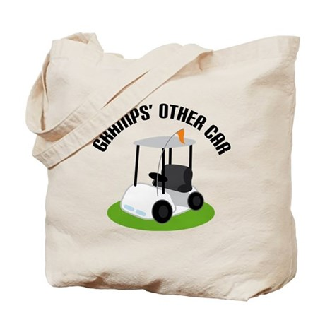 Gramps Golf Cart Tote Bag