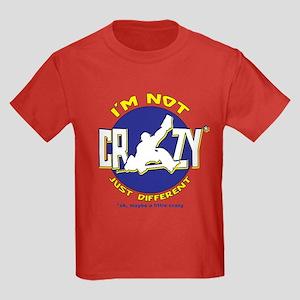 I'm Not Crazy (hockey) Kids Dark T-Shirt