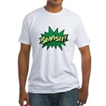 Smash! Fitted T-Shirt
