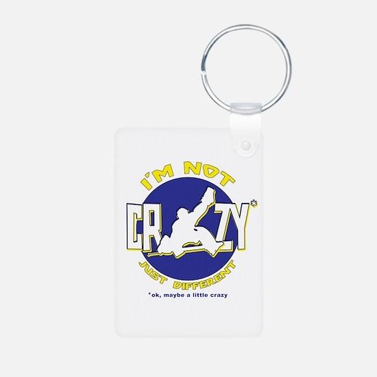I'm Not Crazy (hockey) Keychains