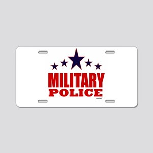 Military Police Aluminum License Plate
