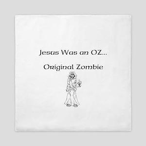 jesus_was_an_OZ Queen Duvet