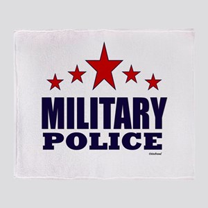 Military Police Throw Blanket