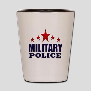 Military Police Shot Glass