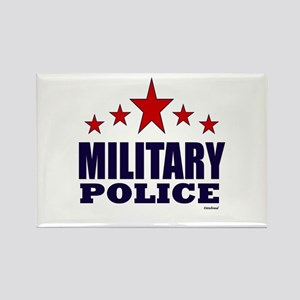 Military Police Rectangle Magnet