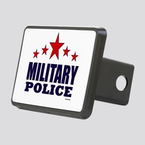 Military Police Rectangular Hitch Cover